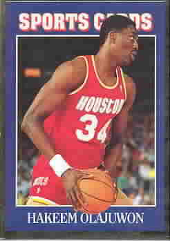 HAKEEM OLAJUWON CARDS
